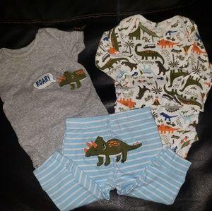 Carters Dinosaur Outfit Bundle